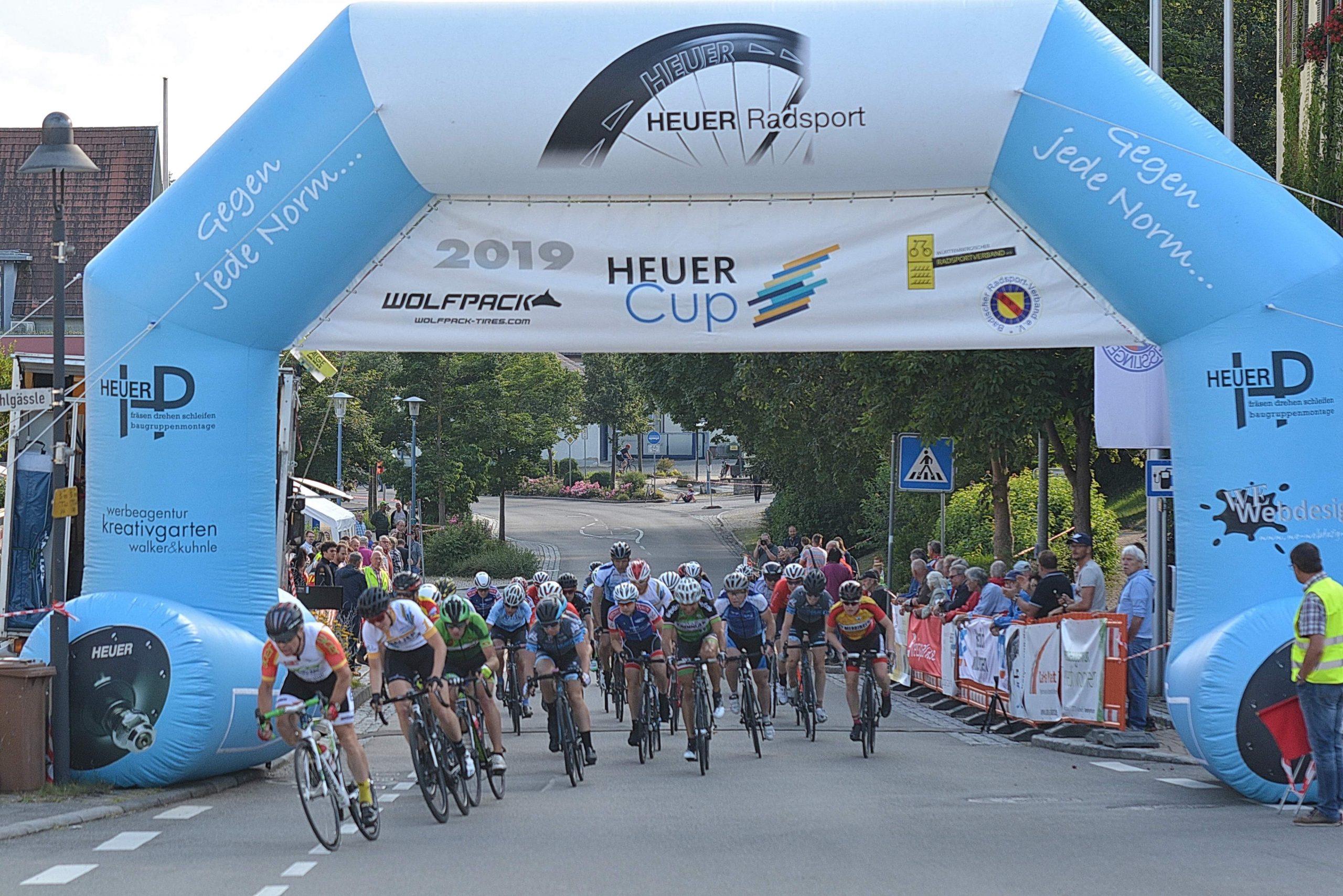 Heuer Radsport und Wolfpack in Deisslingen